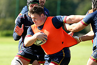 Tuesday 5th October 2021<br /> <br /> Ross Kane during Ulster Rugby training at Newforge Country Club, Belfast, Northern Ireland. Photo by John Dickson/Dicksondigital