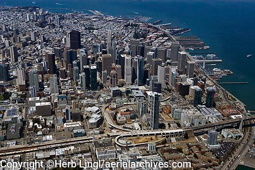 aerial photograph Transbay San Francisco, California aerial photograph San Francisco, California