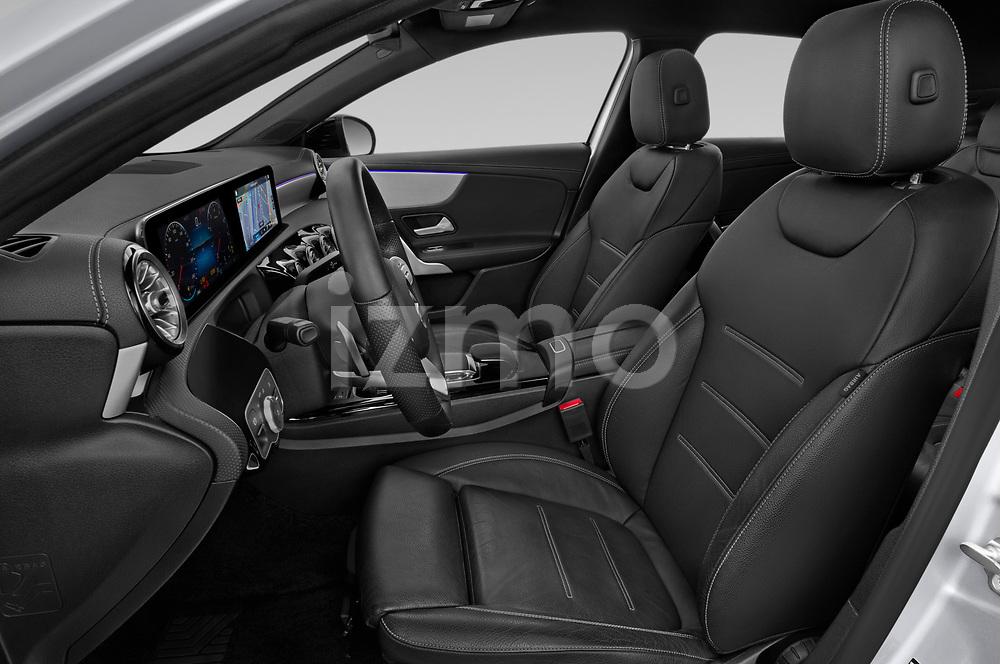Front seat view of 2019 Mercedes Benz A-Class - 4 Door Sedan Front Seat  car photos