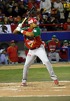 Ruben Rivera / Mexico - 2009 Caribbean Series, Mexicali..Photo by:  Bill Mitchell/Four Seam Images