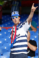 Hertha Berlin BSC fans during the pre season friendly match between Crystal Palace and Hertha BSC at Selhurst Park, London, England on 3 August 2019. Photo by Carlton Myrie / PRiME Media Images.