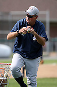 July 5th 2008:  Manager Pat McMahon of the Staten Island Yankees, Class-A affiliate of the NY Yankees, during a game at Falcon Park in Auburn, NY.  Photo by:  Mike Janes/Four Seam Images