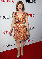 HOLLYWOOD, LOS ANGELES, CA, USA - JULY 14: Frances Fisher at the Los Angeles Premiere Of Netflix's 'The Killing' Season 4 held at ArcLight Cinemas on July 14, 2014 in Hollywood, Los Angeles, California, United States. (Photo by Celebrity Monitor)