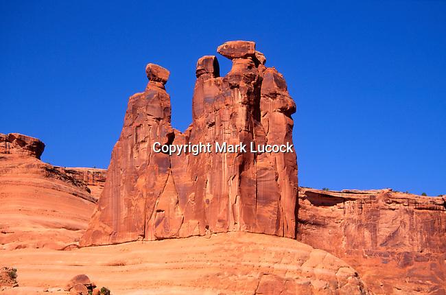 Three Gossips, Arches National Park, Utah