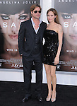 Brad Pitt & Angelina Jolie at the Columbia Pictures' Premiere of SALT held at The Grauman's Chinese Theatre in Hollywood, California on July 19,2010                                                                               © 2010 Debbie VanStory / Hollywood Press Agency