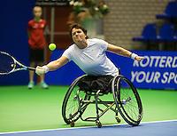 December 16, 2014, Rotterdam, Topsport Centrum, Lotto NK Tennis, Dorrie Timmermans-Van Hall (NED)<br /> Photo: Tennisimages/Henk Koster