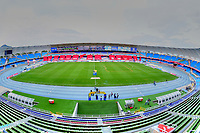 CALI - COLOMBIA, 11-09-2020:Panorámica del estadio Pascual Guerrero . América de Cali y Atlético Junior en partido de vuelta por la SuperLiga Águila 2020 jugado en el estadio Pascual Guerrero de la ciudad de Cali. / <br /> Panoramic photo of the Pascual Guerrero stadium.America de Cali and Atletico Junior in second leg match as part of SuperLiga Aguila 2020 played at Pascual Guerrero stadium in Cali. Photo: VizzorImage / Nelson Rios / Cont