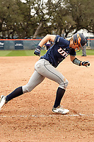 SAN ANTONIO, TX - FEBRUARY 17, 2018: The University of Texas at San Antonio Roadrunners defeat the Prairie View A&M University Panthers 9-1 at Roadrunner Field. (Photo by Jeff Huehn)
