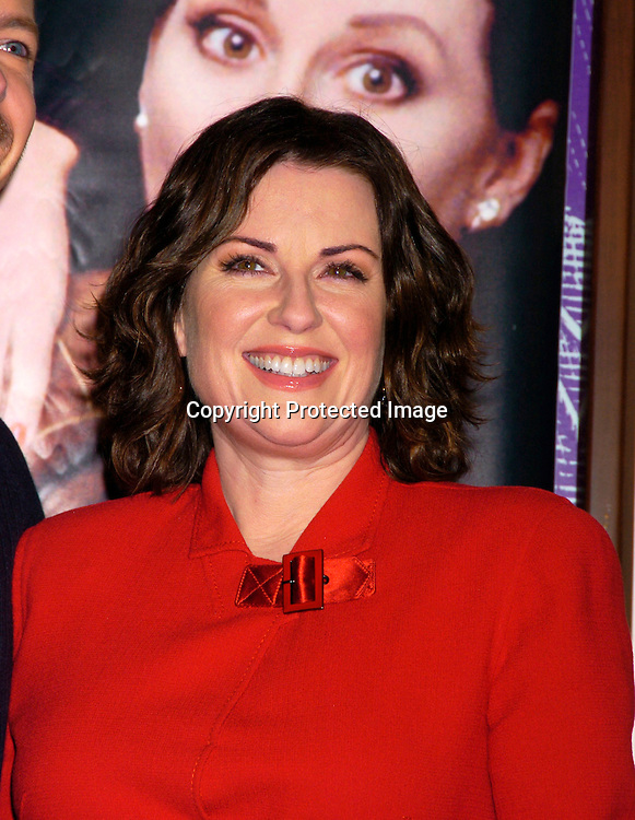 """Megan Mullally..at Barnes & Nobles Union Square signing copies of ..their new CD """" Will & Grace: Let the Music Out! """" on September 15, 2004 in New York City. ..Photo by Robin Platzer, Twin Images"""