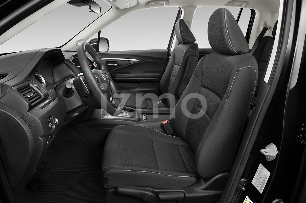 Front seat view of 2021 Honda Ridgeline Sport 4 Door Pick-up Front Seat  car photos
