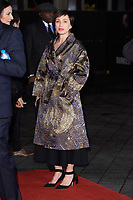 "Kristin Scott Thomas<br /> arriving for the ""Darkest Hour"" premiere at the Odeon Leicester Square, London<br /> <br /> <br /> ©Ash Knotek  D3361  11/12/2017"