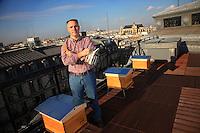 Louis Vuitton beekeeper Nicolas Geant