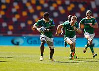 24th April 2021; Brentford Community Stadium, London, England; Gallagher Premiership Rugby, London Irish versus Harlequins; Albert Tuisue of London Irish