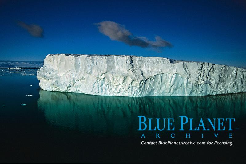 Iceberg floating in the ross sea Antarctica