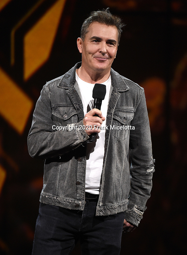 """HOLLYWOOD, CA - DECEMBER 10: Nolan North appears on """"The Game Awards 2020"""" in Hollywood, California on December 10, 2020. (Photo by Frank Micelotta/PictureGroup)"""