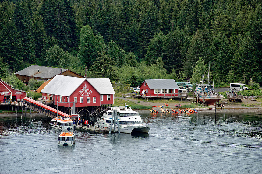 Icy Straight Point historic cannery, Hoonah, Alaska, USA