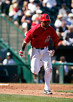 Hainley Statia - Los Angeles Angels - 2009 spring training.Photo by:  Bill Mitchell/Four Seam Images
