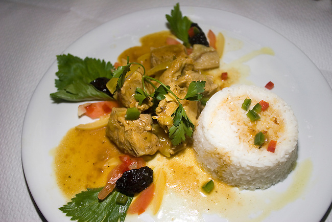 Chicken & Rice Platter, L'Avenir Restaurant, Paris, France, Europe