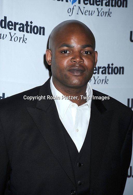 Harve Pierre, President of Bad Boy Entertainment..at The Music Visionary Awards Luncheon hosted by UJA-Federation of New York on July 15, 2008 at ..The Pierre Hotel. ....Robin Platzer, Twin Images