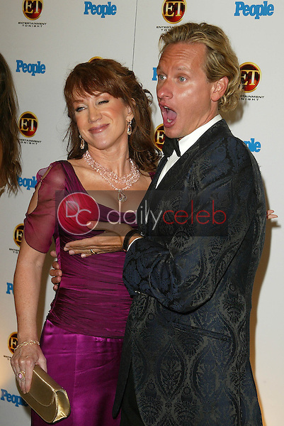Kathy Griffin and Carson Kressley<br />