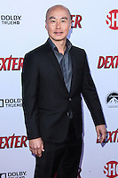 HOLLYWOOD, CA - JUNE 15: C.S. Lee arrives at the premiere screening of Showtime's 'Dexter' Season 8 at Milk Studios on June 15, 2013 in Hollywood, California. (Photo by Celebrity Monitor)