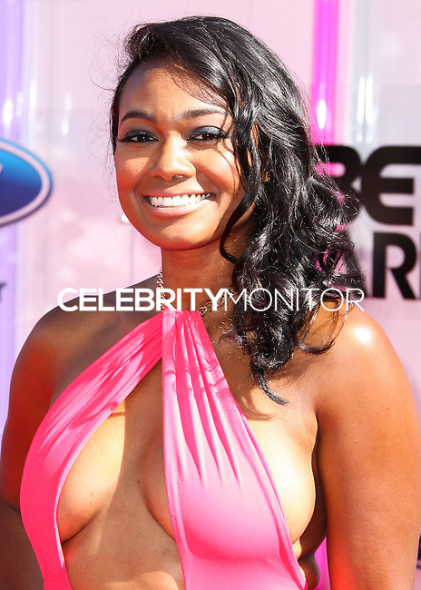 LOS ANGELES, CA, USA - JUNE 29: Actress  Tatyana Ali arrives at the 2014 BET Awards held at Nokia Theatre L.A. Live on June 29, 2014 in Los Angeles, California, United States. (Photo by Xavier Collin/Celebrity Monitor)