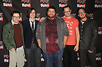 """Weezer & Jorge Garcia  at The Axe Music """"One Night Only"""" Concert series,Weezer headlines & takes over The Dunes Inn Motel in Hollywood, California on September 21,2010                                                                               © 2010 Hollywood Press Agency"""