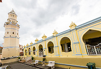George Town, Penang, Malaysia.  Acheen Street Malay Mosque.