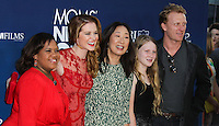 """HOLLYWOOD, LOS ANGELES, CA, USA - APRIL 29: Chandra Wilson, Sarah Drew, Sandra Oh, Kevin McKidd at the Los Angeles Premiere Of TriStar Pictures' """"Mom's Night Out"""" held at the TCL Chinese Theatre IMAX on April 29, 2014 in Hollywood, Los Angeles, California, United States. (Photo by Xavier Collin/Celebrity Monitor)"""