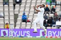 Mohammad Shami, India gathers to bowl during India vs New Zealand, ICC World Test Championship Final Cricket at The Hampshire Bowl on 22nd June 2021