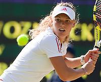 25-6-09, England, London, Wimbledon, Caroline Wozniacki