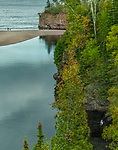 Flyfishing and other activities at Tettegouche State Park in the Fall.