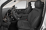 Front seat view of a 2020 Mercedes Benz V-class Avantgarde 5 Door Mini Van front seat car photos