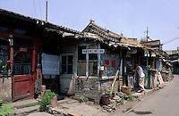 China, Peking, Hutong beim Trommelturm