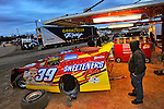 Feb 03, 2011; 5:56:02 PM; Sylvania, GA., USA; An Unsactioned Racing Event Running a 10,000 To Win During Speedweeks 2011 At Screven Motor Speedway.  Mandatory Credit: (thesportswire.net)