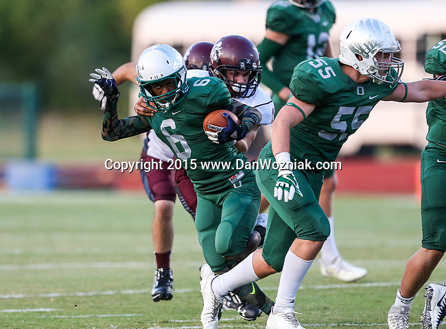 2017 HS Football: Oakridge vs. Cumby