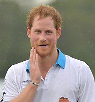 WELLINGTON, FL - MAY 04: Prince Harry are seen during the awards ceremony at the Sentebale Royal Salute Polo Cup on May 4, 2016 in Wellington, Florida.<br /> <br /> People:  Prince Harry