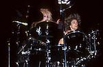Terry Bozzio & Dale Bozzio of Missing Persons 1987
