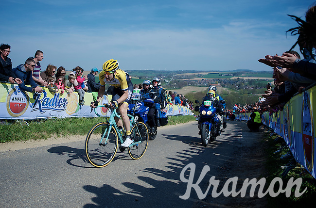 Timo Roosen (NLD/LottoNL-Jumbo) up the Gulpenerberg<br /> <br /> 50th Amstel Gold Race 2015