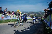 Timo Roosen (NLD/LottoNL-Jumbo) up the Gulpenerberg<br /> <br /> 50th Amstel Gold Race 2015