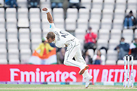 Neil Wagner, New Zealand follows through during India vs New Zealand, ICC World Test Championship Final Cricket at The Hampshire Bowl on 22nd June 2021
