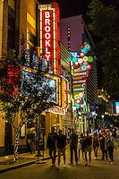 Las Vegas, Nevada.  The Linq Promenade at Night.
