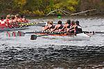 Boston, Rowing, U.S. Coast Guard Academy Women's Crew, Rowing, 2006 Head of the Charles Regatta, Charles River, Cambridge, Massachusetts, USA,