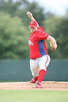 August 12, 2008: Ryan Bergh of the GCL Phillies.  Photo by: Chris Proctor/Four Seam Images