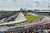 Verizon IndyCar Series<br /> Chevrolet Detroit Grand Prix Race 2<br /> Raceway at Belle Isle Park, Detroit, MI USA<br /> Sunday 4 June 2017<br /> Takuma Sato, Andretti Autosport Honda, Ryan Hunter-Reay, Andretti Autosport Honda start<br /> World Copyright: Scott R LePage<br /> LAT Images<br /> ref: Digital Image lepage-170604-DGP-11379