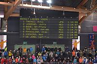 SPEEDSKATING: HAMAR: Vikingskipet, 29-02-2020, ISU World Speed Skating Championships, Sprint, 1000m Ladies, Result, ©photo Martin de Jong