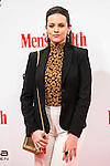 Cristina Abad attends to the delivery of the Men'sHealth awards at Goya Theatre in Madrid, January 28, 2016.<br /> (ALTERPHOTOS/BorjaB.Hojas)