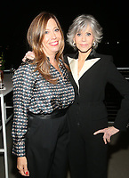 LOS ANGELES, CA - OCTOBER 6: Kirsten Schaffer, Jane Fonda, at the 2021 WIF Honors Celebrating Trailblazers Of The New Normal at the Academy Museum of Motion Pictures in Los Angeles, California on October 6, 2021. <br /> CAP/MPIFS<br /> ©MPIFS/Capital Pictures