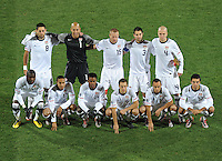 USA Starting Eleven. Ghana defeated the USA 2-1 in overtime in the 2010 FIFA World Cup at Royal Bafokeng Stadium in Rustenburg, South Africa on June 26, 2010.