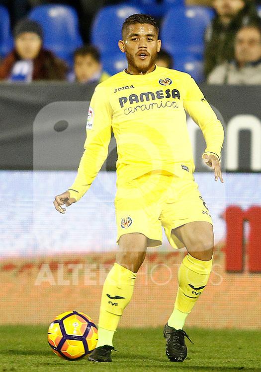 Villarreal CF's Jonathan Dos Santos during La Liga match. December 3,2016. (ALTERPHOTOS/Acero)